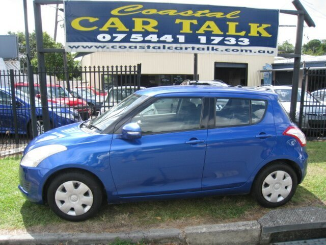 Used Suzuki Swift Nambour, 2015 Suzuki Swift Blue 4 Speed Automatic Hatchback