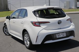 2018 Toyota Corolla Mzea12R Ascent Sport White Continuous Variable Hatchback.