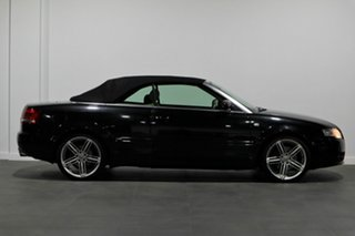 2009 Audi A4 B7 MY06 S Line Tiptronic Black 6 Speed Sports Automatic Cabriolet