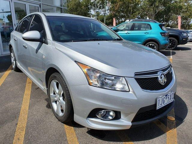 Used Holden Cruze JH Series II MY12 SRi Epsom, 2012 Holden Cruze JH Series II MY12 SRi Silver 6 Speed Sports Automatic Sedan