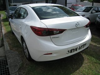 2015 Mazda 3 BM Neo White 6 Speed Automatic Sedan