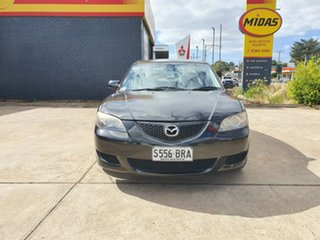 2006 Mazda 3 BK10F1 Neo Black 5 Speed Manual Sedan.