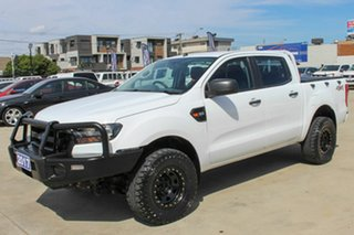 2017 Ford Ranger PX MkII XL White 6 Speed Manual Utility