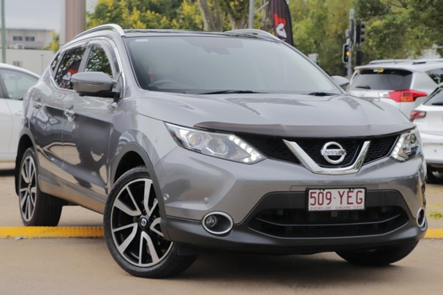 Used Nissan Qashqai J11 TI Toowoomba, 2016 Nissan Qashqai J11 TI Grey 1 Speed Constant Variable Wagon