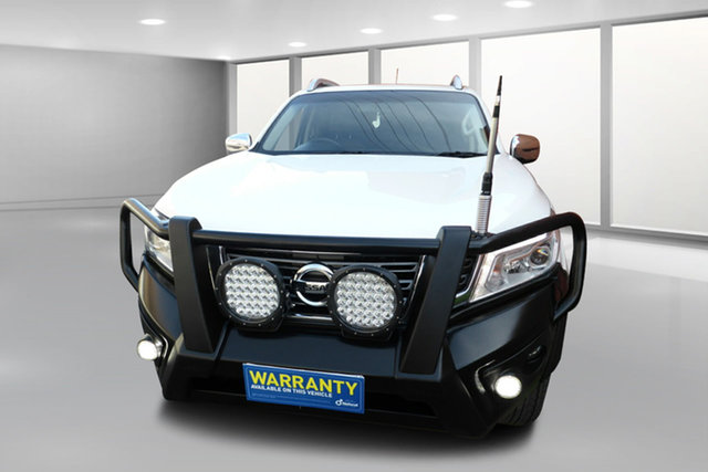Used Nissan Navara D23 ST-X West Footscray, 2015 Nissan Navara D23 ST-X Antarctic White 6 Speed Manual Utility