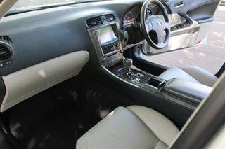 2009 Lexus IS GSE20R MY10 IS250 Sports Luxury Silver 6 Speed Sports Automatic Sedan