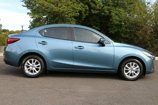 2016 Mazda 2 DL2SAA Maxx SKYACTIV-Drive Gunmetal Blue 6 Speed Sports Automatic Sedan