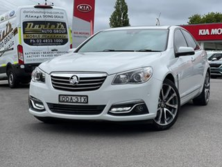 2016 Holden Calais V White Sports Automatic Sedan.