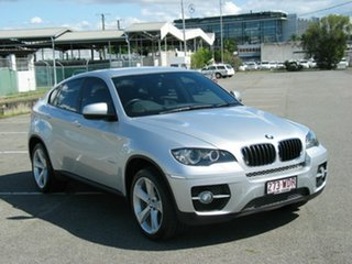 2011 BMW X6 E71 MY11 xDrive30d Silver 8 Speed Automatic Coupe.