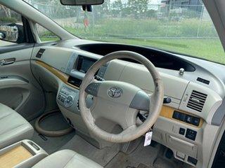 2007 Toyota Tarago GSR50R Ultima V6 Black 6 Speed Automatic Wagon