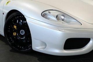 2002 Ferrari 360 Spider F1 Pearl White 6 Speed Seq Manual Auto-Clutch Convertible.