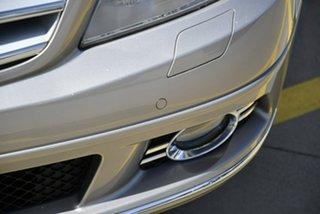 2007 Mercedes-Benz C-Class W204 C220 CDI Avantgarde Beige 5 Speed Automatic Sedan