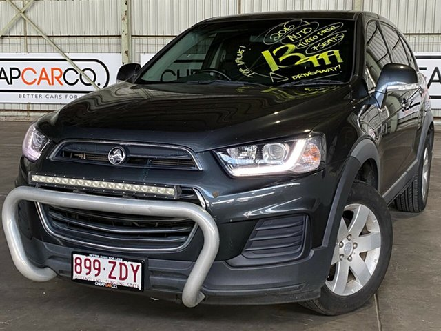 Used Holden Captiva CG MY16 LS 2WD Rocklea, 2016 Holden Captiva CG MY16 LS 2WD Grey 6 Speed Sports Automatic Wagon