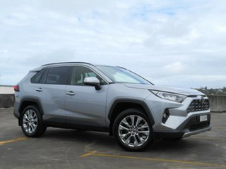 2019 Toyota RAV4 Mxaa52R Cruiser 2WD Silver 10 Speed Constant Variable Wagon.