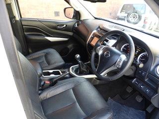 2015 Nissan Navara D23 ST-X Antarctic White 6 Speed Manual Utility