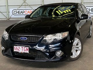 2009 Ford Falcon FG XR6 Black 5 Speed Sports Automatic Sedan.