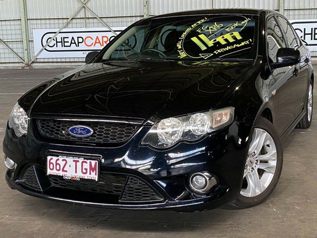Used Ford Falcon FG XR6 Rocklea, 2009 Ford Falcon FG XR6 Black 5 Speed Sports Automatic Sedan