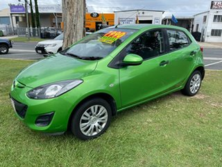 2010 Mazda 2 DE10Y1 MY10 Neo Green 5 Speed Manual Hatchback.