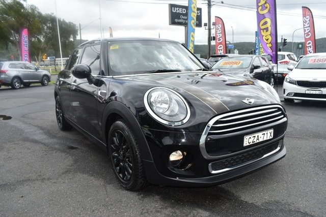 Used Mini Hatch F55 Cooper Gosford, 2015 Mini Hatch F55 Cooper Black 6 Speed Automatic Hatchback