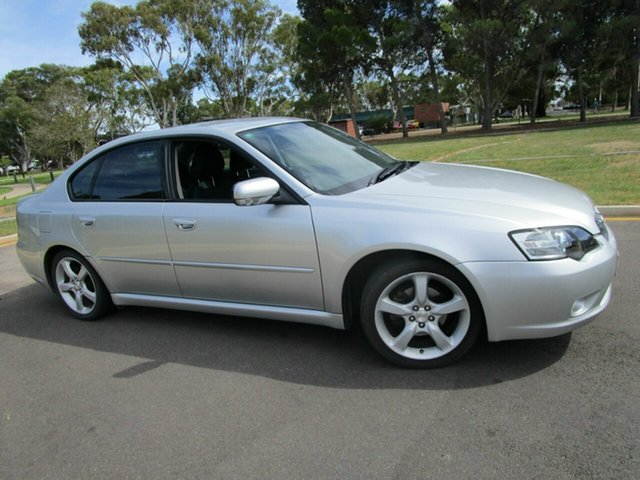 Used Subaru Liberty MY05 2.0I Glenelg, 2005 Subaru Liberty MY05 2.0I Silver 4 Speed Auto Elec Sportshift Sedan
