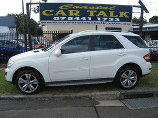 2009 Mercedes-Benz ML320 CDI 164 White 6 Speed Automatic Wagon.