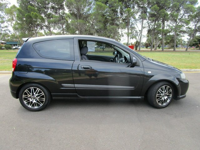 Used Holden Barina TK MY09 Glenelg, 2008 Holden Barina TK MY09 Black 5 Speed Manual Hatchback