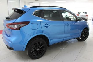 2020 Nissan Qashqai J11 Series 3 Midnight Edition Vivid Blue 1 Speed Continuous Variable Wagon.
