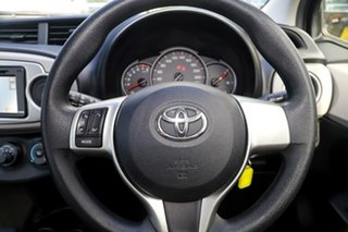 2012 Toyota Yaris NCP130R YR Black 4 Speed Automatic Hatchback