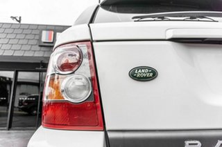 2008 Land Rover Range Rover Sport L320 08MY TDV6 White 6 Speed Sports Automatic Wagon