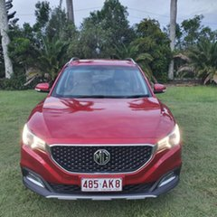 2018 MG ZS AZS1 MY19 Excite 2WD Burning Red Metallic 4 Speed Automatic Wagon.