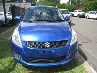 2015 Suzuki Swift Blue 4 Speed Automatic Hatchback.