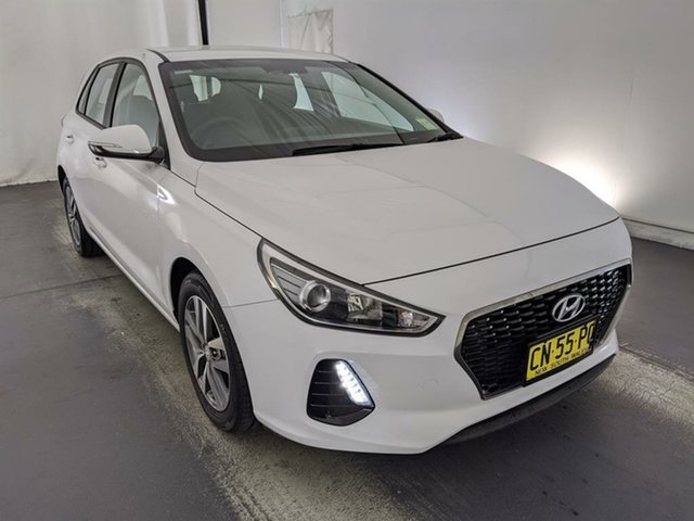 Used Hyundai i30 PD MY18 Active Maryville, 2017 Hyundai i30 PD MY18 Active White 6 Speed Sports Automatic Hatchback