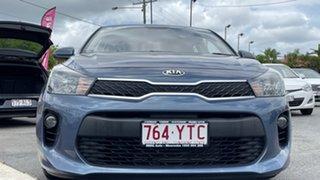 2017 Kia Rio YB MY17 S Ice Blue 4 Speed Sports Automatic Hatchback.