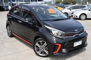 2018 Kia Picanto JA MY18 AO Edition Black 4 Speed Automatic Hatchback.