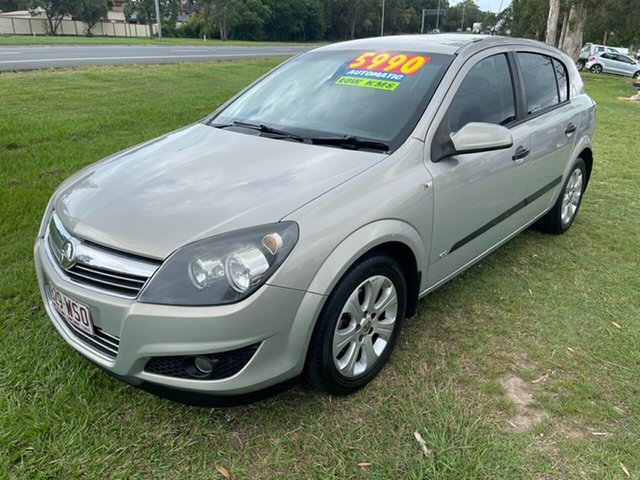 Used Holden Astra AH MY08 CD Clontarf, 2008 Holden Astra AH MY08 CD Silver 4 Speed Automatic Hatchback