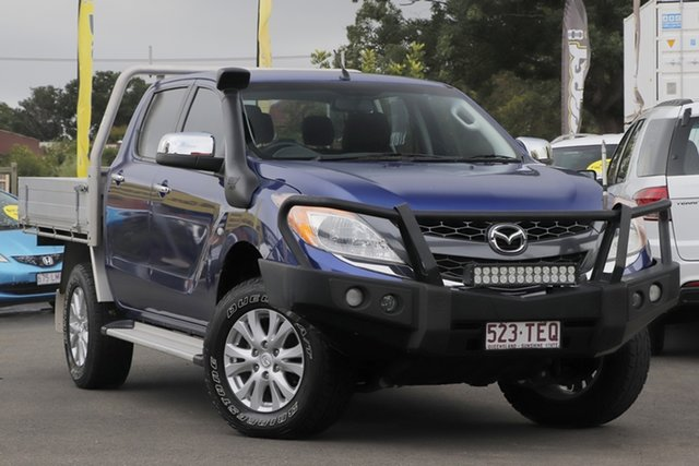 Used Mazda BT-50 UP0YF1 XTR Toowoomba, 2013 Mazda BT-50 UP0YF1 XTR Blue 6 Speed Sports Automatic Utility