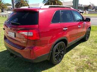 2012 Kia Sorento XM MY12 Platinum Red 6 Speed Sports Automatic Wagon.