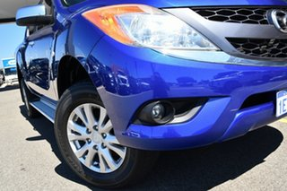 2014 Mazda BT-50 UP0YF1 XTR Blue 6 Speed Sports Automatic Utility.