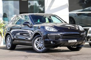 2011 Porsche Cayenne 92A MY11 S Tiptronic Black 8 Speed Sports Automatic Wagon.