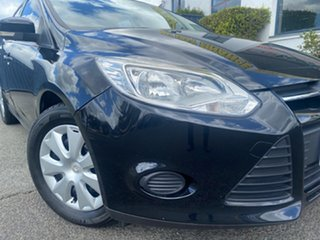 2013 Ford Focus LW MkII Ambiente Black 5 Speed Manual Hatchback.