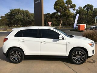 2014 Mitsubishi ASX XB MY14 2WD White 6 Speed Constant Variable Wagon.