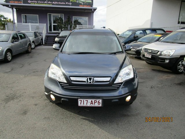 Used Honda CR-V MY07 (4x4) Luxury Coorparoo, 2008 Honda CR-V MY07 (4x4) Luxury Grey 5 Speed Automatic Wagon