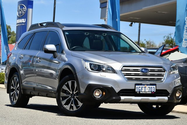 Used Subaru Outback B6A MY17 2.0D CVT AWD Premium Melville, 2017 Subaru Outback B6A MY17 2.0D CVT AWD Premium Ice Silver 7 Speed Constant Variable Wagon