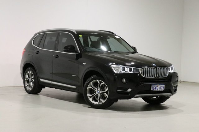 Used BMW X3 G01 xDrive20d Bentley, 2018 BMW X3 G01 xDrive20d Black 8 Speed Automatic Wagon