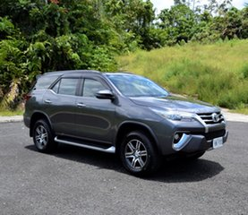 Toyota Fortuner Grey Metallic Automatic.