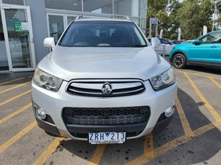 2012 Holden Captiva CG Series II 7 AWD LX Silver 6 Speed Sports Automatic Wagon.
