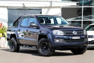 2016 Volkswagen Amarok 2H MY16 TDI420 4MOTION Perm Core Plus Blue 8 Speed Automatic Utility.