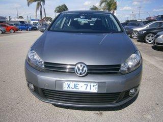2009 Volkswagen Golf VI 90TSI Trendline Grey 6 Speed Manual Hatchback.