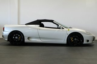 2002 Ferrari 360 Spider F1 Pearl White 6 Speed Seq Manual Auto-Clutch Convertible