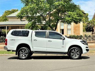 2017 Holden Colorado RG MY18 LTZ Pickup Crew Cab White 6 Speed Manual Utility